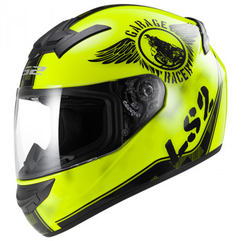 Мотошлем LS2 FF352 Rookie Fan Hi-Viz Yellow M