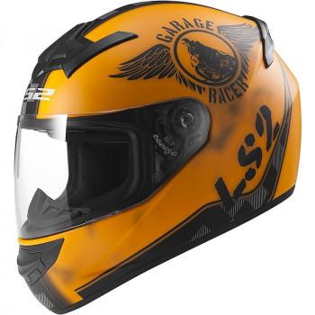 Мотошлем LS2 FF352 Rookie Fan Matt Orange L