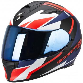 Мотошлем Scorpion Exo-510 Air Fujin Matt Black-Neon-Red-Blue L