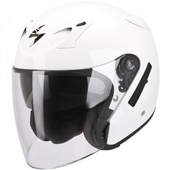 Мотошлем Scorpion Exo-220 White 2XL