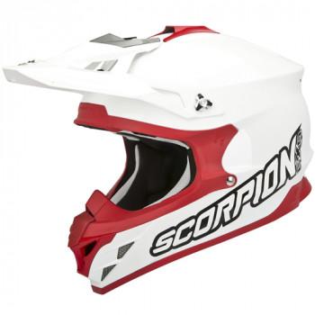 Мотошлем Scorpion VX-15 Evo Air White-Red M