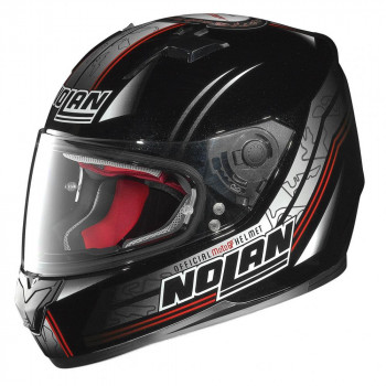 Мотошлем Nolan N64 Moto GP 062 Black-Red-Grey M
