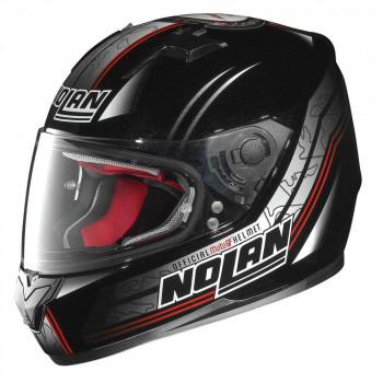Мотошлем Nolan N64 Moto GP 062 Black-Red-Grey L