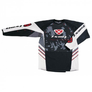фото 1 Кроссовая одежда Джерси Ixon Sweat GRAPHIC Black-white-Grey-Red 2XL