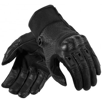Мотоперчатки кожаные REVIT Bomber Black 3XL
