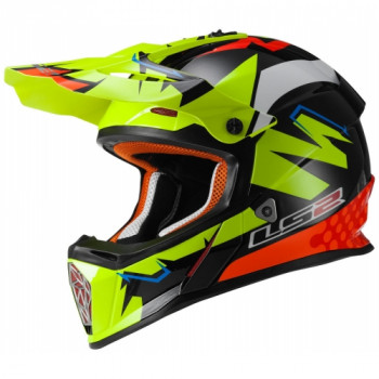 Мотошлем LS2 MX437 Fast Isaac Vinales Replica S