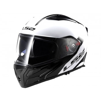 Мотошлем LS2 FF324 Metro Rapid White-Black S