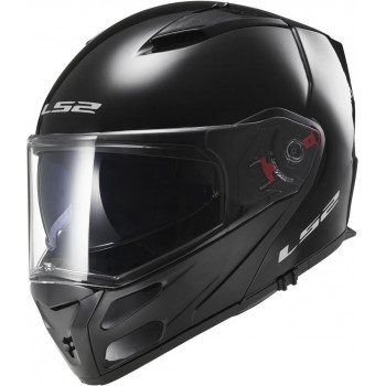 Мотошлем LS2 FF324 Metro Single Mono Gloss-Black M