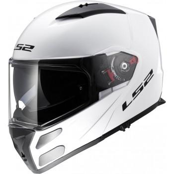 Мотошлем LS2 FF324 Metro Single Mono Gloss-White L