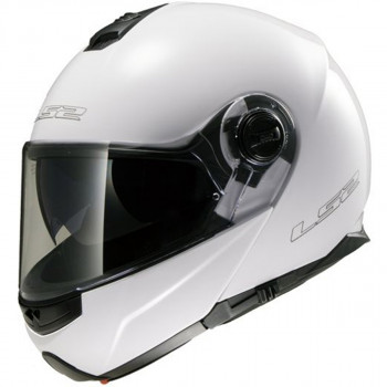 Мотошлем LS2 FF325 Strobe Gloss-White S