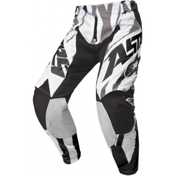 Кроссовые штаны Alpinestars Techstar Black-White-Grey 32