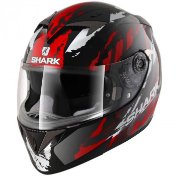 Мотошлем SHARK S700 Oxyd Black-Red M