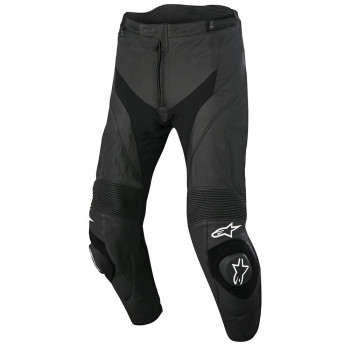 Мотоштаны кожаные Alpinestars Missile Airflow Black 54 (2015)