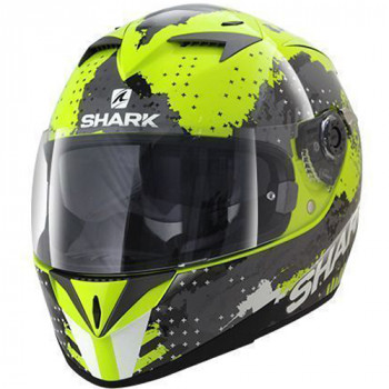 Мотошлем Shark S700 Squad Black-Fluo Yellow L