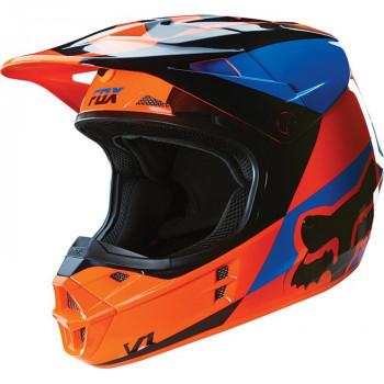 Мотошлем Fox V1 Mako Helmet Ece Orange L