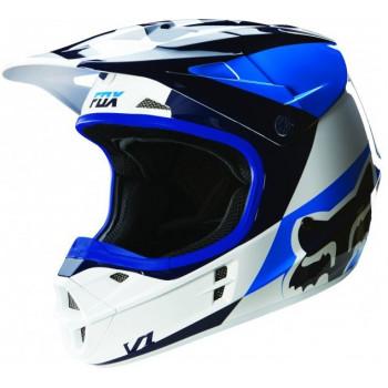 Мотошлем Fox V1 Mako Helmet Ece White S
