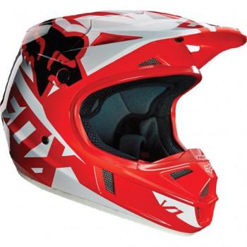 Мотошлем Fox V1 Race ECE Red L