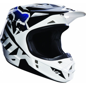 Мотошлем Fox V1 Race ECE Black XS