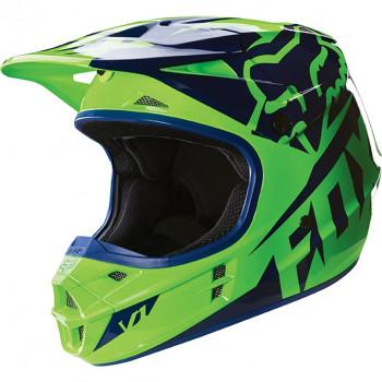 Мотошлем Fox V1 Race ECE Green M