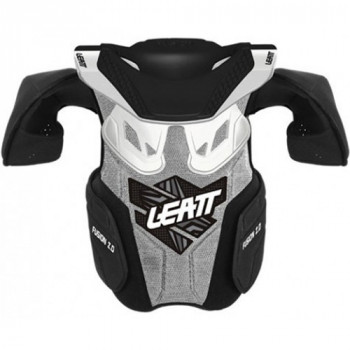 Детская защита тела и шеи Leatt Fusion vest 2.0 White 2XL