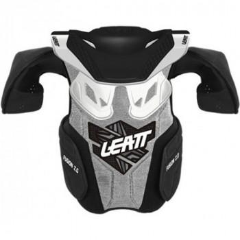 Детская защита тела и шеи Leatt Fusion vest 2.0 White L-XL
