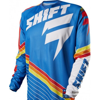 Мотоджерси Shift Strike Stripes Jersey Blue XL