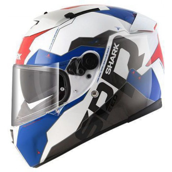 Мотошлем SHARK Speed-R 2 Sauer II White-Red-Blue M