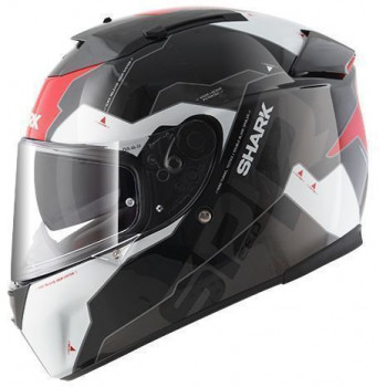 Мотошлем SHARK Speed-R 2 Sauer II Black-White-Red L