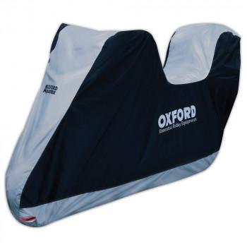 Моточехол Oxford Aquatex TopBox Black-Silver L