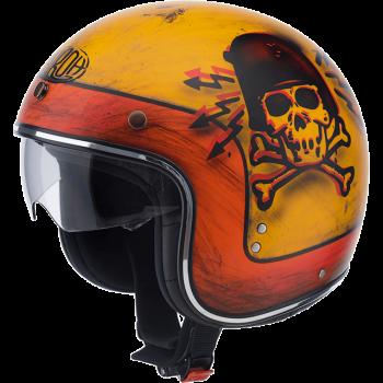 Мотошлем Airoh Riot Skullboy Matt XL