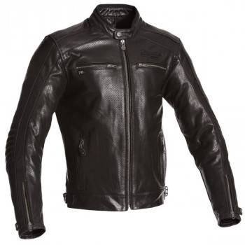 Мотокуртка кожаная Segura Iron Black 3XL