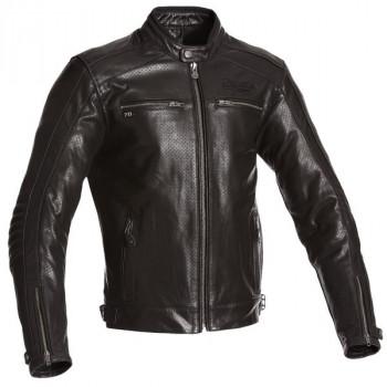 Мотокуртка кожаная Segura Iron Black M