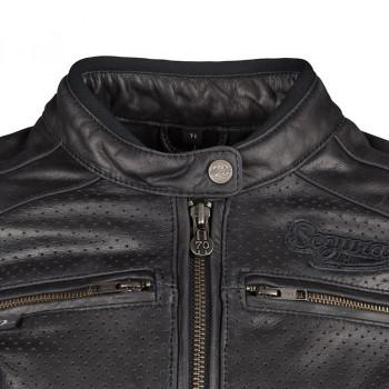 фото 5 Мотокуртки Мотокуртка кожаная Segura Iron Black XL