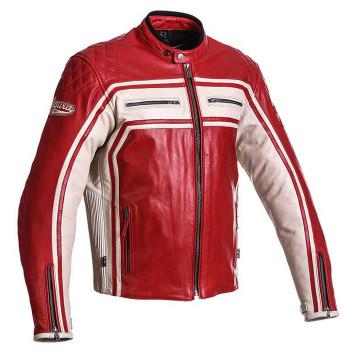 Мотокуртка кожаная Segura Jones Red XL