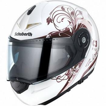 Мотошлем женский Schuberth C3 Pro Euphoria White-Pink 2XS