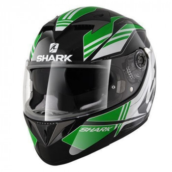 Мотошлем Shark S700 Pinlock Tika Black-Green-White M