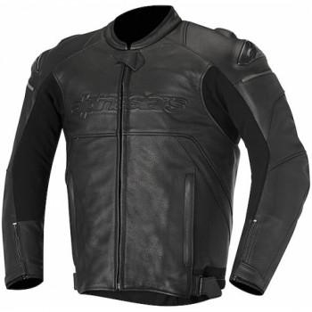 Мотокуртка кожаная Alpinestars Hades Black 52