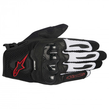 Мотоперчатки Alpinestars SMX-1 Air Black-White-Red L (2016)