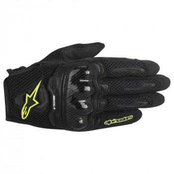 Мотоперчатки Alpinestars SMX-1 Air Black-Yellow L (2016)