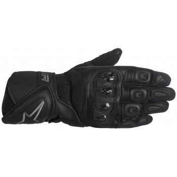 Мотоперчатки кожаные Alpinestars SP Air Black S (2016)