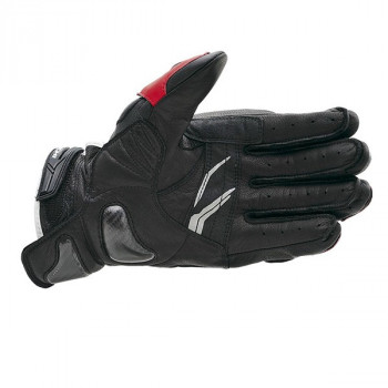 фото 2 Мотоперчатки Мотоперчатки кожаные RS-Taichi High Protection White-Black M