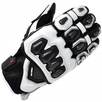 Мотоперчатки кожаные RS-Taichi High Protection White-Black M