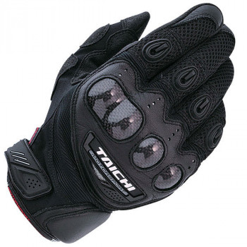 Мотоперчатки кожаные RS-Taichi Velocity Mesh Black 2XL