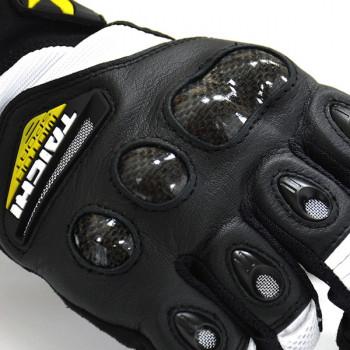 фото 2 Мотоперчатки Мотоперчатки RS-Taichi Velocity Mesh Black-Green L