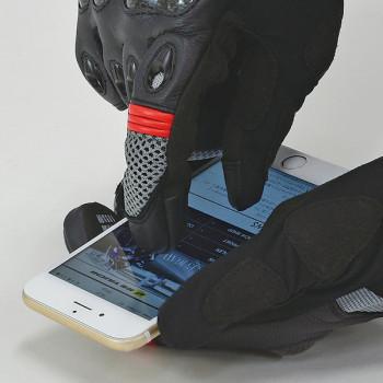 фото 4 Мотоперчатки Мотоперчатки RS-Taichi Velocity Mesh Black-Green L