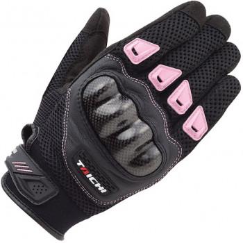 Мотоперчатки женские RS-Taichi Mesh Protection Pink WL