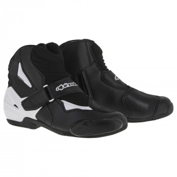Мотоботы Alpinestars SMX-1 R Vented  Black-White 41