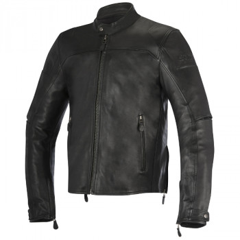 Мотокуртка кожаная Alpinestars Brera Black 54