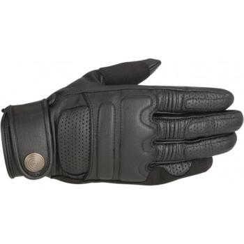 Мотоперчатки кожаные Alpinestars Robinson Black 2XL