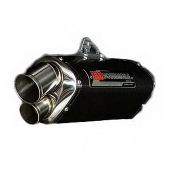 Глушитель Yoshimura EEC (Slip-On) Tri-Oval Suzuki GSX-R750/600K8-10' Carbon coating (Dual exit)